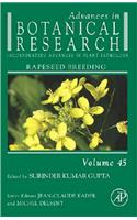 Advances in Botanical Research: Rapeseed Breeding